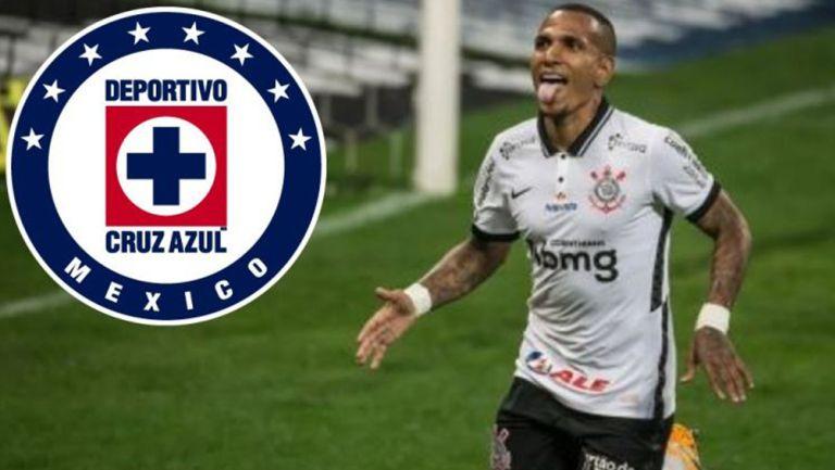 Otero en juego con Corinthians