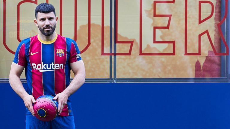 Barcelona: Sergio Agüero sería baja hasta noviembre por lesión