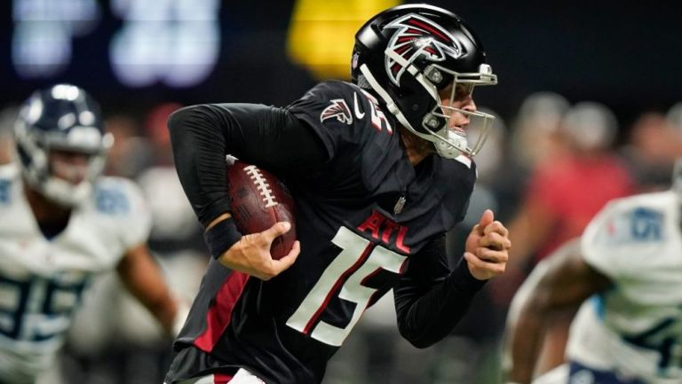 Atlanta Falcons en acción en la pretemporada