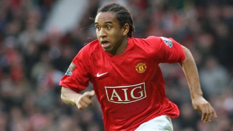 Anderson en su paso por el Manchester United