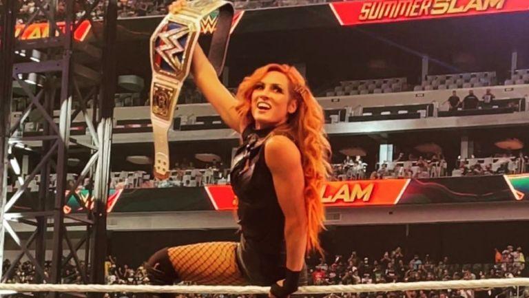 Becky Lynch regresó a la WWE