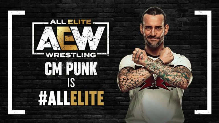 CM Punk regresa a la lucha profesional tras 7 años con AEW