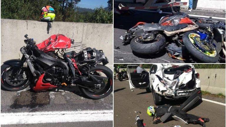 Se realizó una rodada en homenaje a los motociclistas fallecidos en la México-Cuernavaca