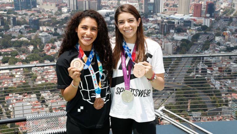 Alejandra Orozco: 'Estas medallas se hicieron a base de esfuerzo, dedicación y compromiso'