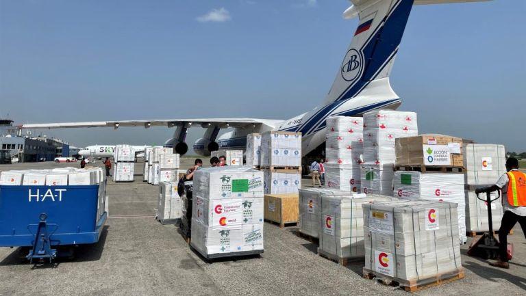 Ayuda humanitaria en Haití