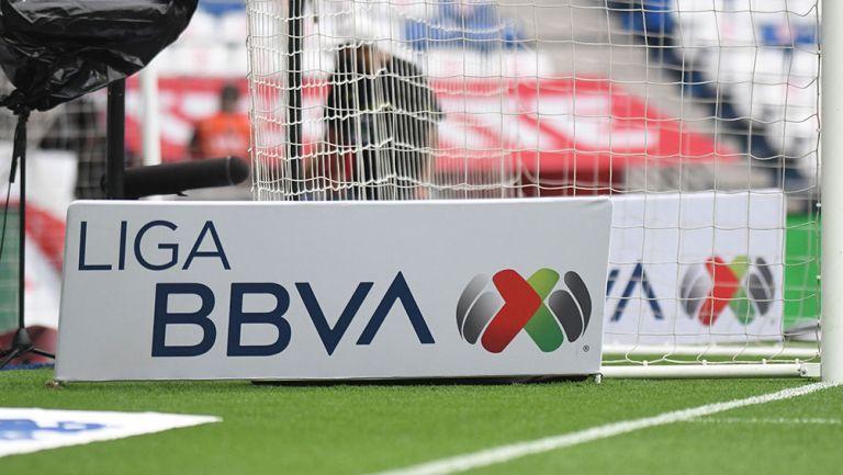 Pancarta de la Liga MX
