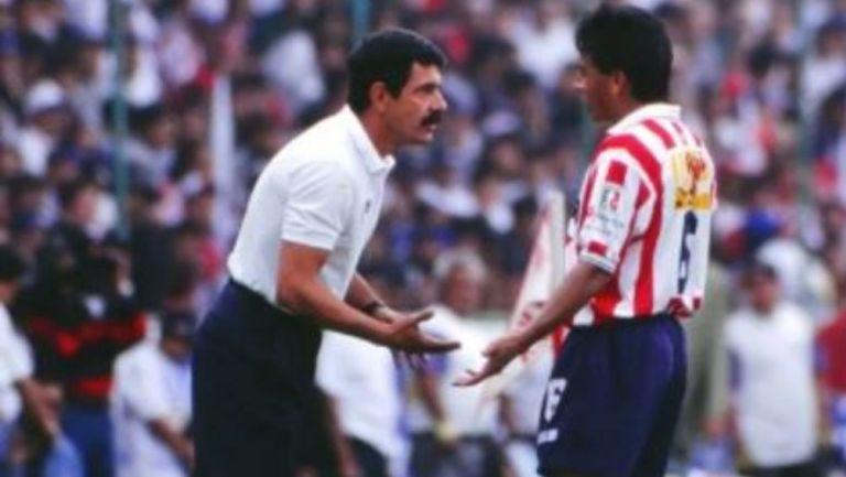 Tuca Ferretti como técnico de Chivas