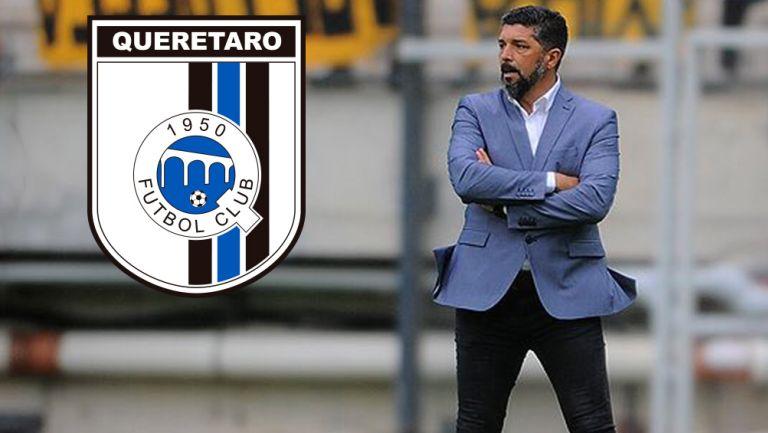 Leonardo Ramos durante un duelo en Uruguay