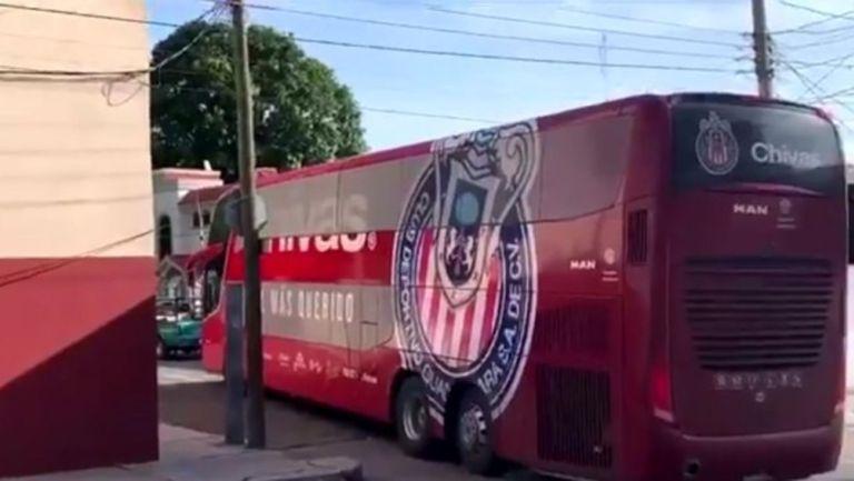 Liga de Expansión: Camión del Tapatío tiró cableado en Tampico