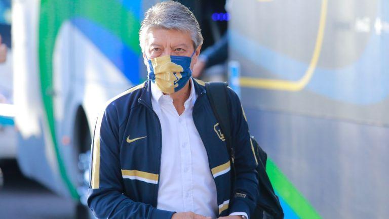 Chucho Ramírez dejó la presidencia deportiva de Pumas