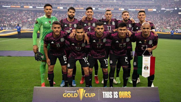 Selección Mexicana previo a la Final de la Copa Oro