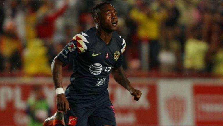 Renato, en festejo de gol
