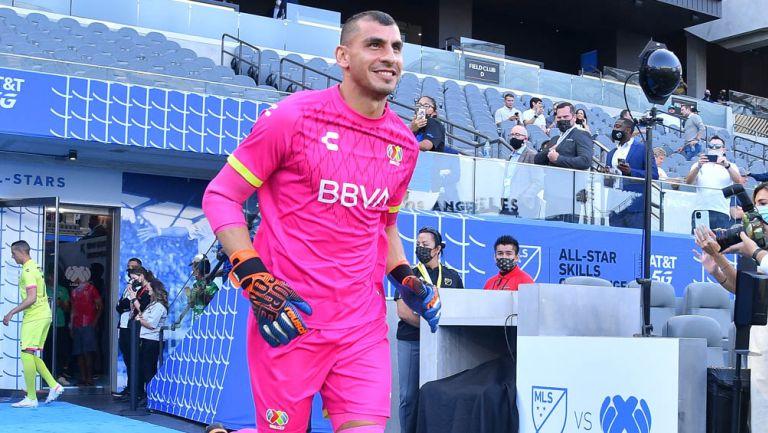 Nahuel Guzmán previo al Juego de Estrellas