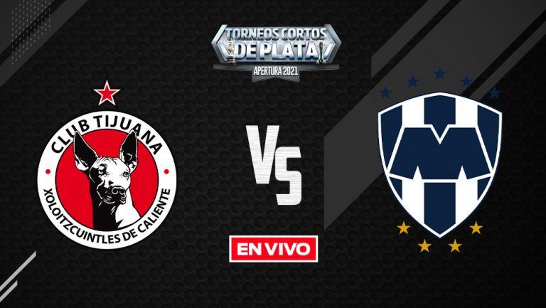 EN VIVO Y EN DIRECTO: Tijuana vs Monterrey Liga MX  Apertura 2021 J7