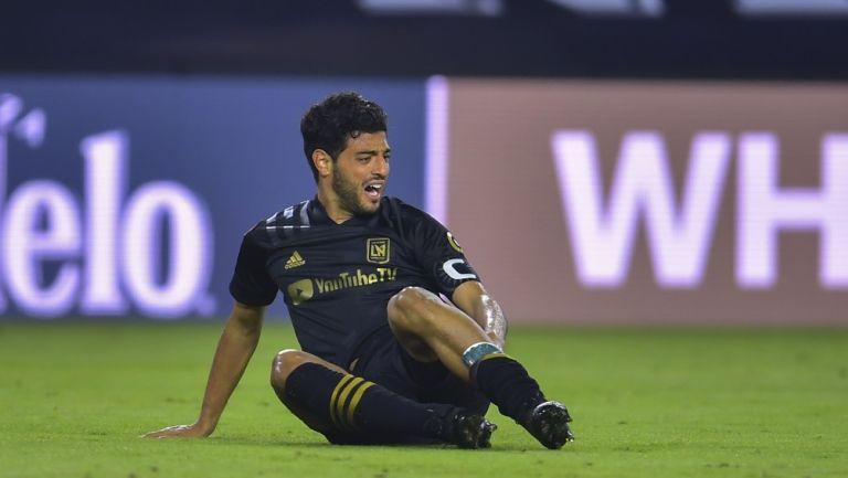 Carlos Vela: DT del LAFC descartó al Bombardero para el Clásico del Tráfico