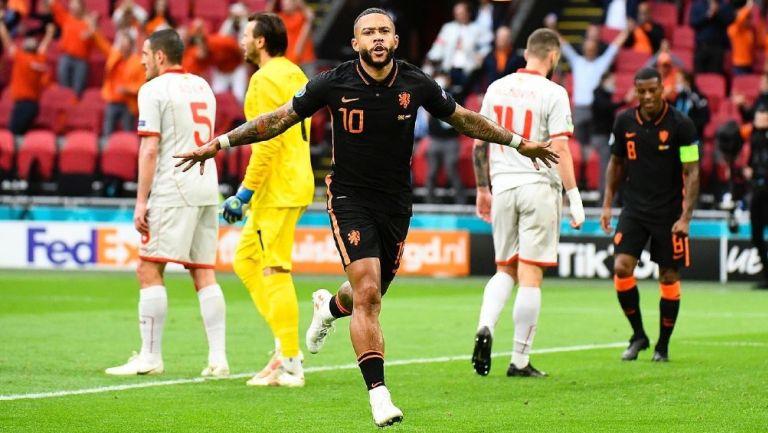 Memphis Depay en la selección de Países Bajos