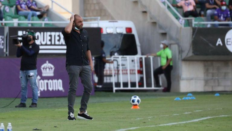 Marcelo Méndez, técnico del San Luis