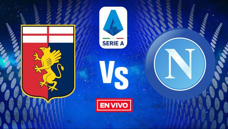 EN VIVO Y EN DIRECTO: Genoa vs Napoli Serie A  J2 Temporada 2021-22
