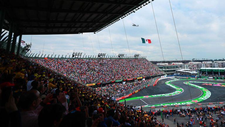 Autódromo de los Hermanos Rodríguez en GP de México