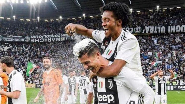 Juventus: Juan Cuadrado se despide emotivamente de Cristiano Ronaldo