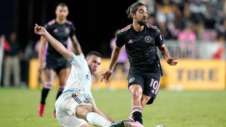 Rodolfo Pizarro: Se acaba la racha goleadora tras el empate entre Inter de Miami y Orlando City