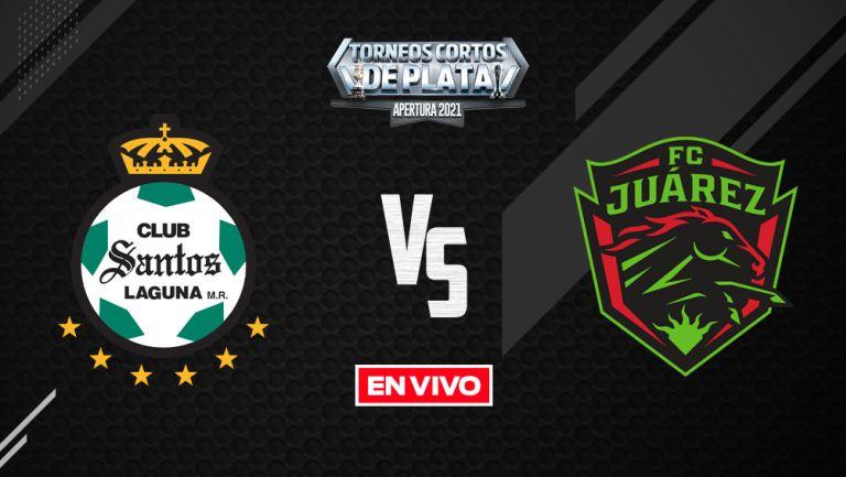 EN VIVO Y EN DIRECTO: Santos vs Juárez Liga MX Apertura 2021 J7