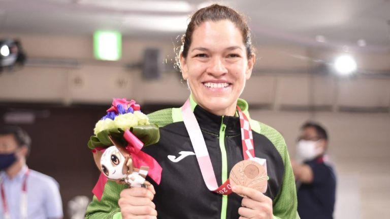 Lenia Ruvalcaba se llevó el bronce en judo