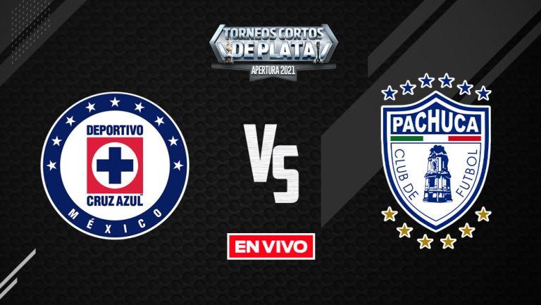 EN VIVO Y EN DIRECTO: Cruz Azul vs Pachuca Liga MX  Apertura 2021 J7