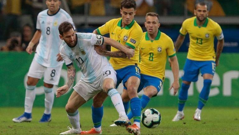Brasil vs Argentina se jugará con mil 500 invitados