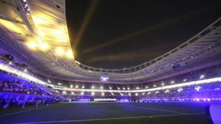 El estadio Al Rayyan, a 24 kilómetros al oeste de la capital Doha