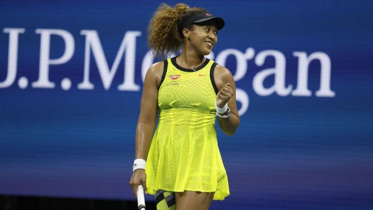 Naomi Osaka regaló pin Olímpico a niña aficionada en el US Open