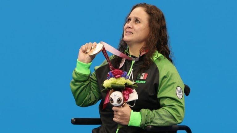 Juegos Paralímpicos: Nely Miranda ganó bronce en Paranatación, cuarta presea de su carrera