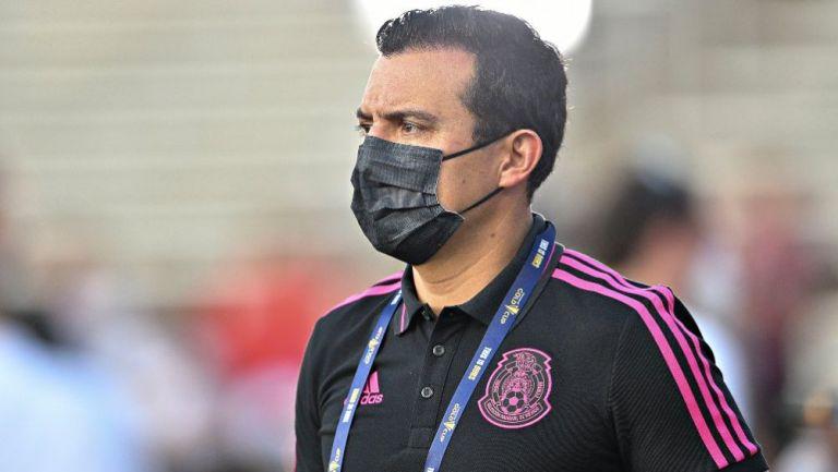Luis Pérez, entrenador de la Selección Nacional Sub 20