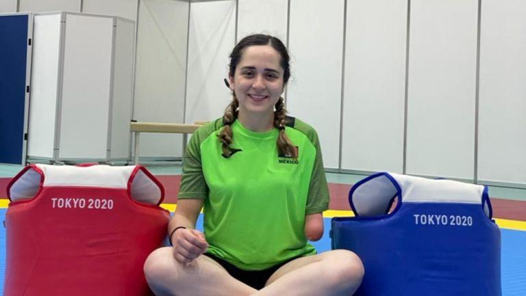 Daniela Martínez, atleta mexicana