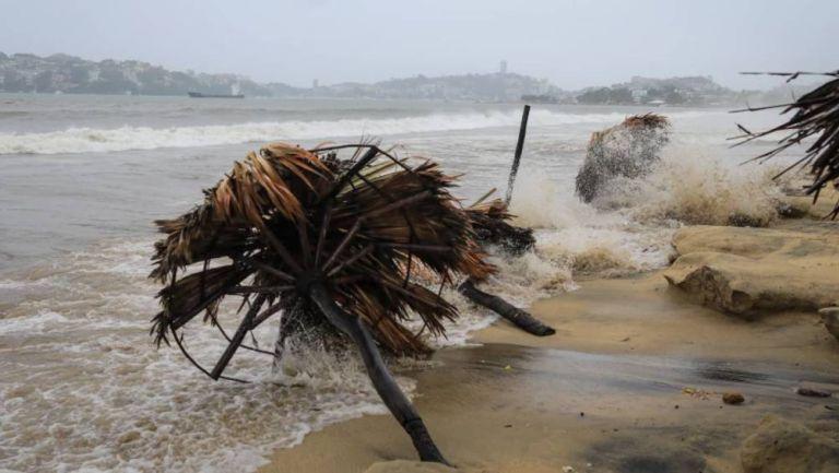 Las playas de Guerrero tras el huracán