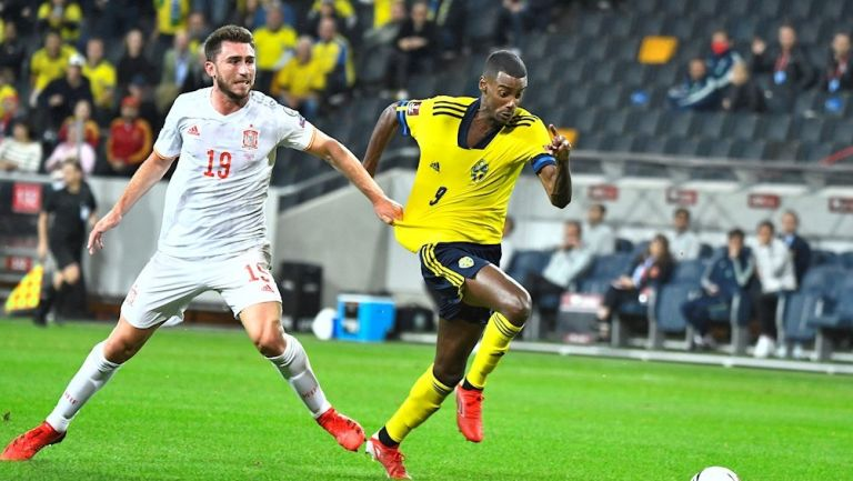 España cayó 2-1 ante Suecia rumbo a Qatar 2022