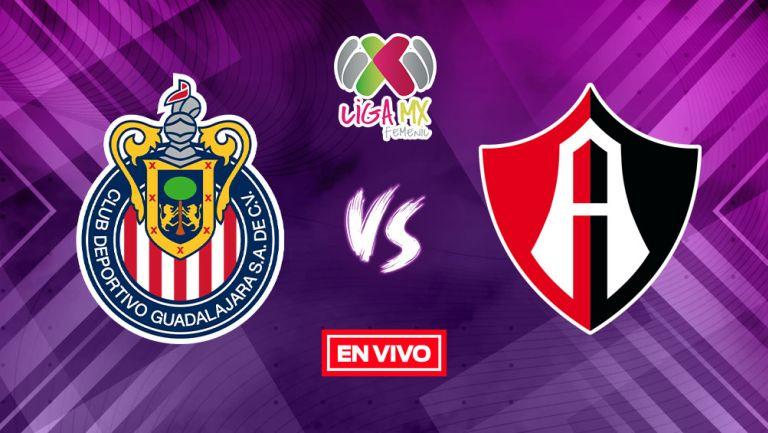 EN VIVO Y EN DIRECTO: Chivas vs Atlas Liga MX Femenil Apertura 2021 J8