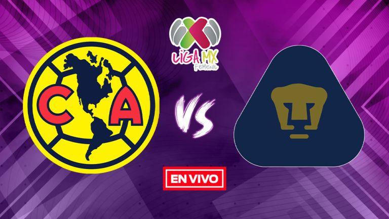 EN VIVO Y EN DIRECTO: América vs Pumas Liga MX Femenil Apertura 2021 J8