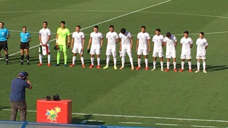 México enfrentó a España Sub 19