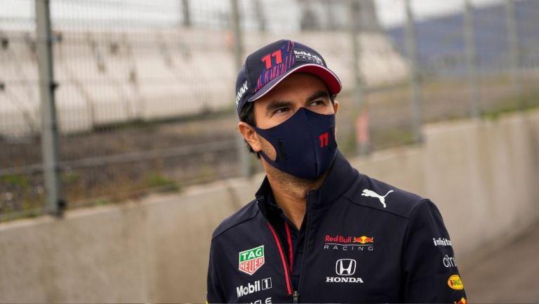 Checo Pérez en el GP de los Países Bajos