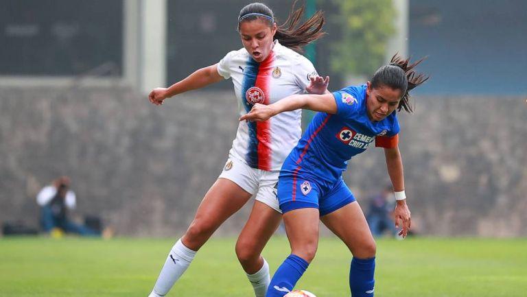 Jaqueline Rodríguez durante un partido