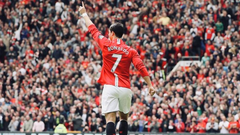 Cristiano en el Manchester United