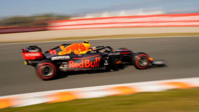Checo Pérez brilló en Gran Premio de Países Bajos y finalizó octavo