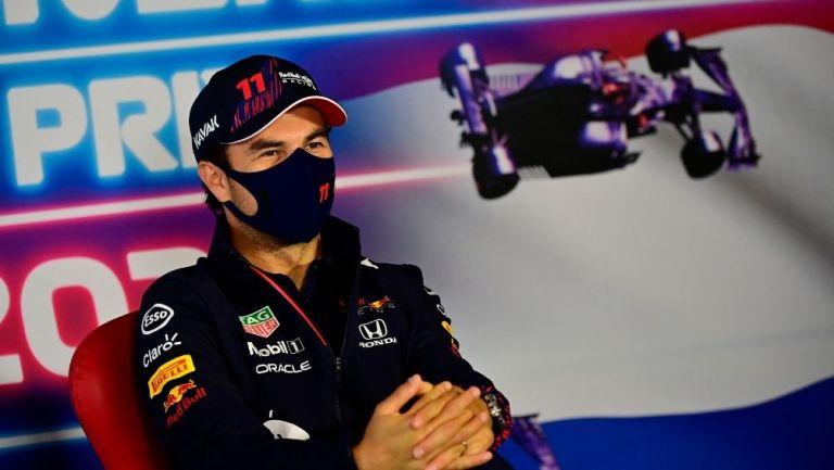 Checo Pérez previo al GP de Países Bajos