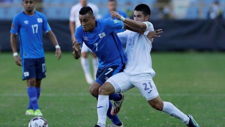 El Salvador y Honduras empataron