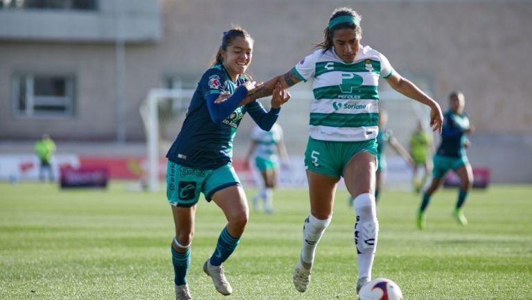 Puebla y Santos en su enfrentamiento más reciente
