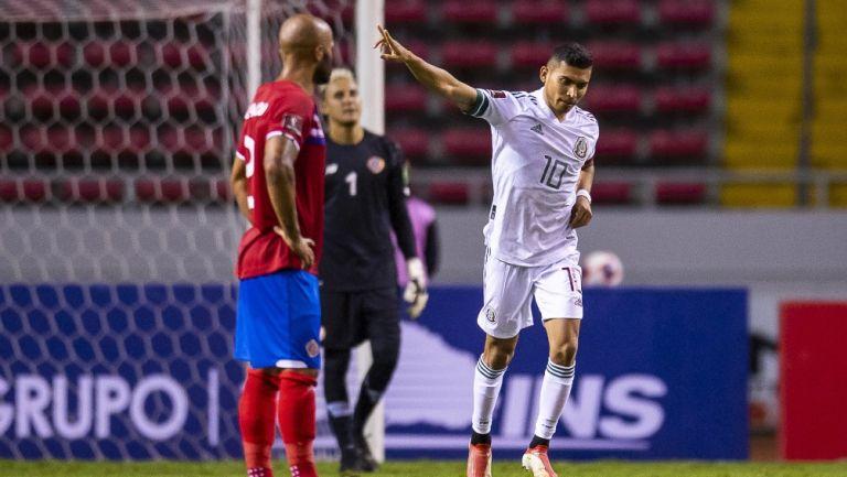 Selección Mexicana: Venció a Costa Rica para mantener la cima del Octagonal Final de Concacaf