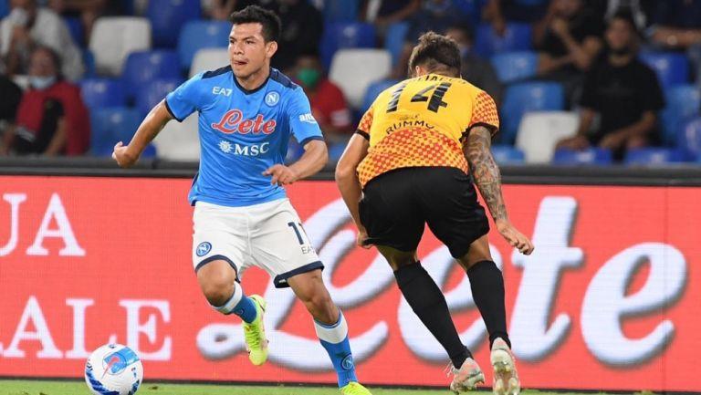 Chucky Lozano: Napoli fue goleado por el Benevento en duelo amistoso