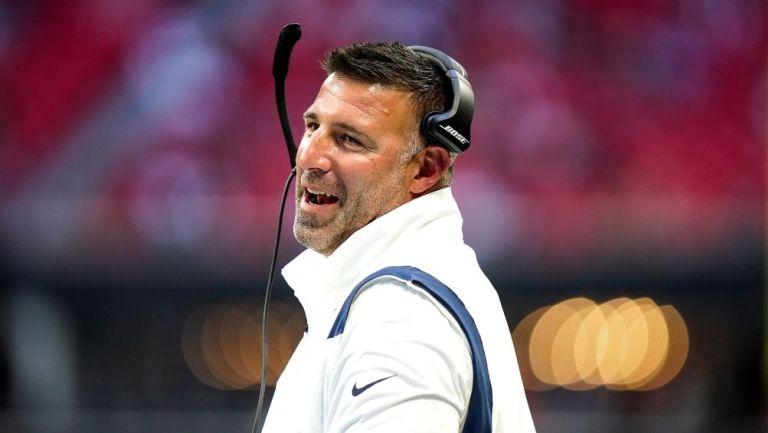 Mike Vrabel, coach de los Titans de Tennessee