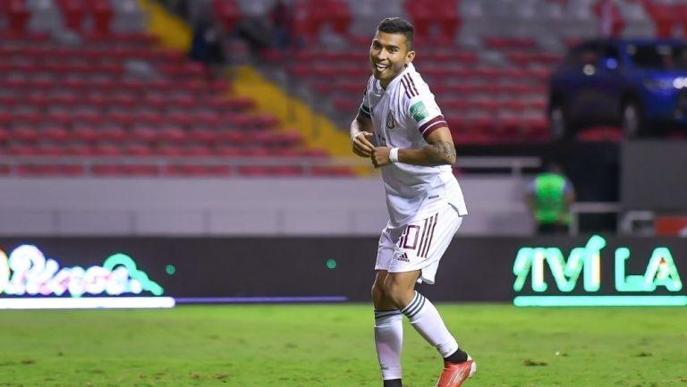 Pineda marcó el gol de la victoria vs Costa Rica